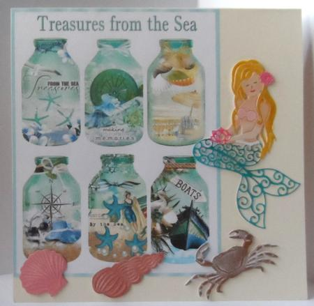 Treasures from the Sea Bottle Collection in Card Gallery