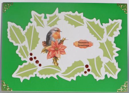 Christmas Wreath Mat 2 - SVG in Card Gallery