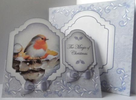 Blue Robin Magic Fancy Stand Up Card Kit in Card Gallery