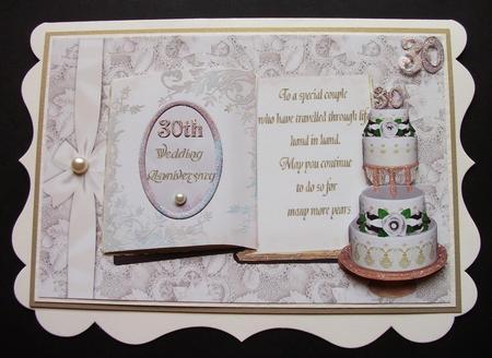 Card Gallery - 30th Pearl Wedding Anniversary