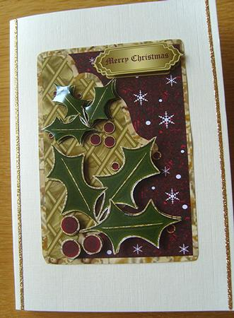 Quick & Easy Christmas Card in Card Gallery