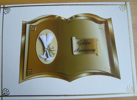 Golden Anniversary in Card Gallery