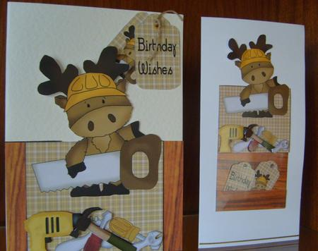 DIY Moose Pocket Card Front 4 in Card Gallery