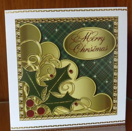 Christmas Topper with Scalloped Layer 4 in Card Gallery