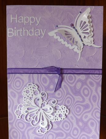 Fluttering Butterflies - SVG in Card Gallery