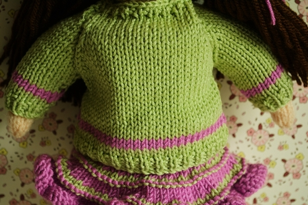 Jemima January Knitted Doll - Doll Knitting Pattern - CUP715147_1712 Crafts...