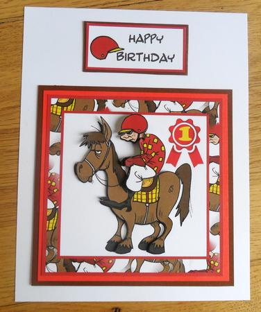 Card Gallery - Joe Jockey