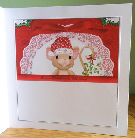 Card Gallery - Christmas Cracker - Chrismouse INSERT