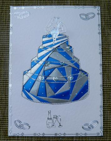 Card Gallery - Wedding Cake