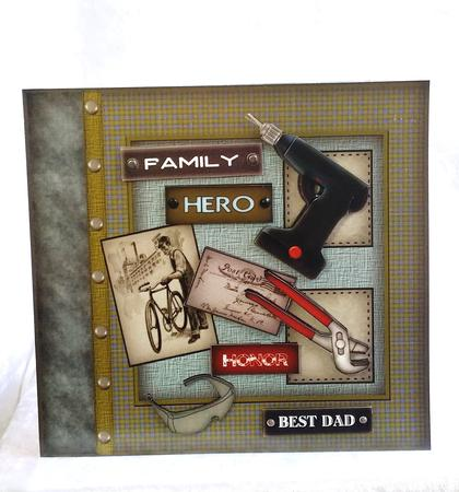 Card Gallery - For the Men in My Family MK
