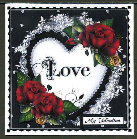 Card Gallery - The Love heart quick card