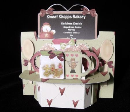 The Sweet Shoppe Christmas Shelf Card Kit in Card Gallery