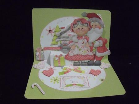 Celebrate the Season Mr and Mrs 3D Large Stepper Kit in Card Gallery