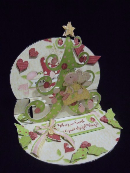 Angel Wings 3D Mini Stepper in Card Gallery