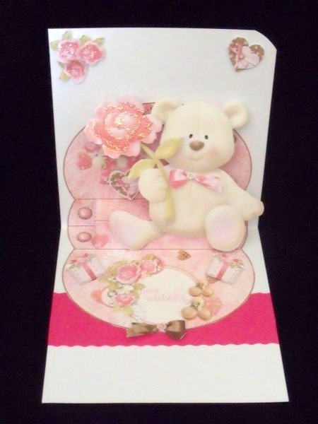 Bear Hugs 3D Large Stepper Kit in Card Gallery