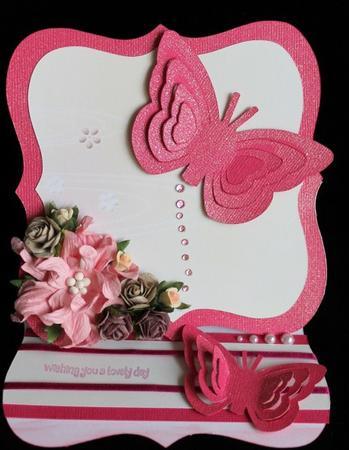 One Cut 3D Butterflies - Sil Studio in Card Gallery