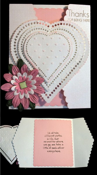 222 Tri-fold Scalloped Card *studio* in Card Gallery