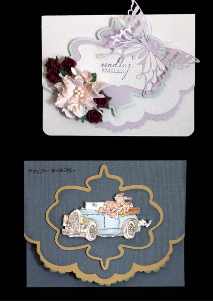 223 Scalloped Edge & Shaped Label *multiple Machine Formats* in Card Gallery