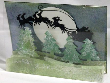 013 Santa's on His Way Card *multiple Machine Formats* in Card Gallery