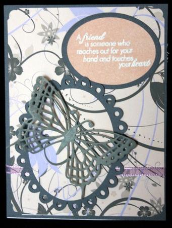 Pretty Little Floral Swirls in Card Gallery