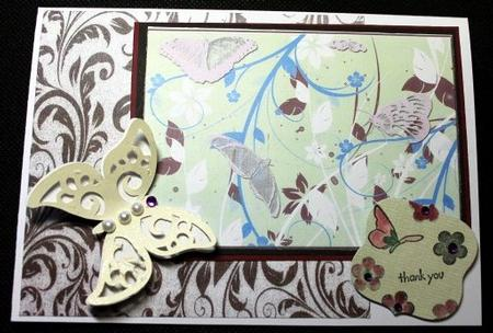 Pretty Flutter Toppers in Card Gallery