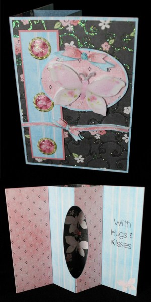 Internal Window Card - Fabric Pick'n'mix in Card Gallery
