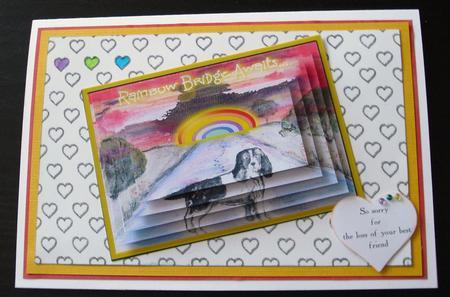 Rainbow Bridge Awaits - Pyramid in Card Gallery