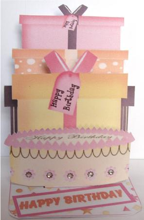 Card Gallery - Birthday Card Pop-up Kit