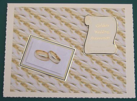 Card Gallery - Golden Wedding Rings