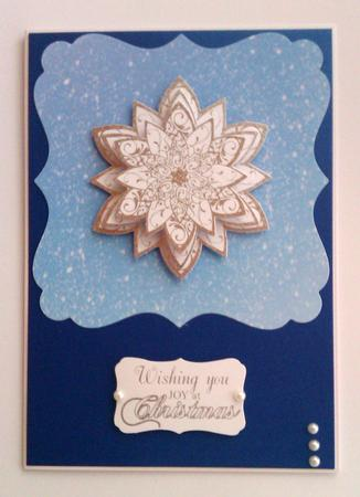 Card Gallery - It's Snowing Paper