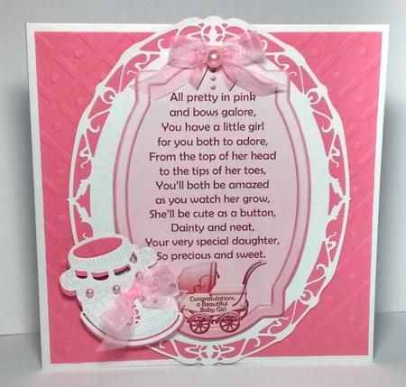 Two Baby Girl Verse Toppers Cup623572 1035 Craftsuprint