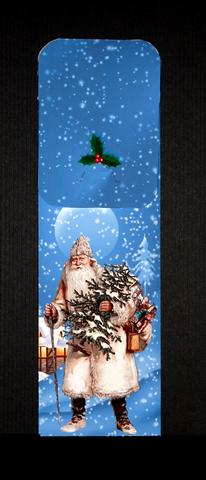Card Gallery - Father Christmas in the Snow Cutlery Wrap