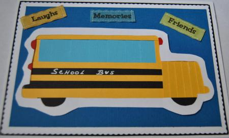 Card Gallery - School Bus