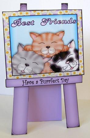 Card Gallery - best friend cats