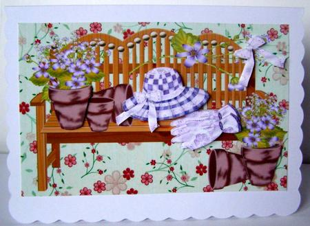 Card Gallery - The Lilac garden