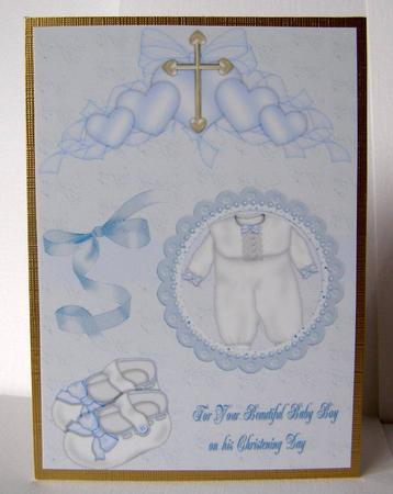 Card Gallery - A4 baby christening