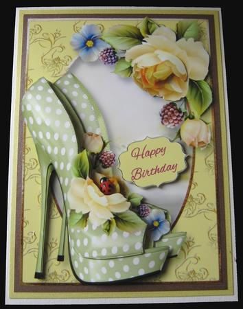 The Eccentric Shoes & Yellow Roses in Card Gallery