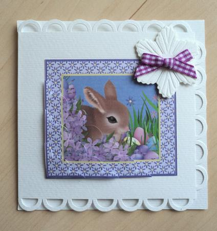 Easter bunny stacker card photo by marijke kok for Call the easter bunny phone number