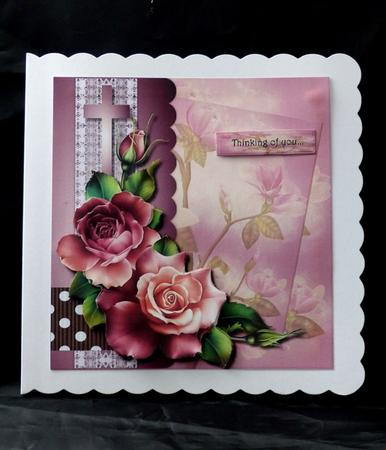 Card Gallery - Mini kit Sympathy Roses