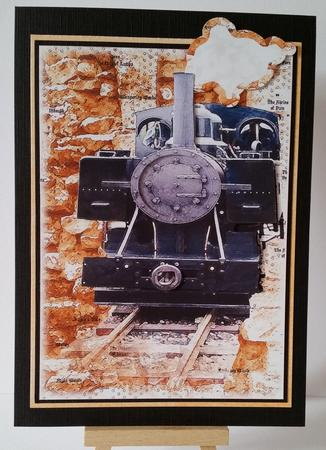 Card Gallery - steam train journey-quick and shake card