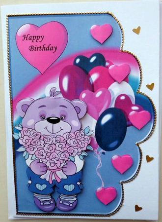 Card Gallery - I Love you beary Much