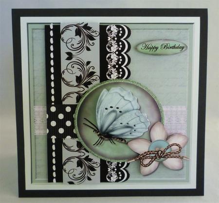 Card Gallery - Beautiful Butterfly Mini Kit