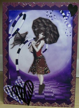 Card Gallery - Susie ragdoll A4 1