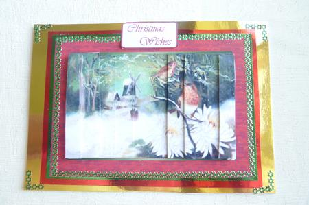Card Gallery - Christmas Robins and the Windmill