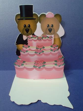 Card Gallery - Wedding Bear Pop-Up Card