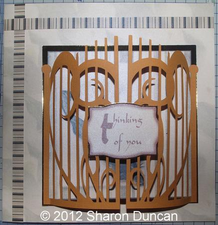 Card Gallery - SET OF 2 IRON GATES