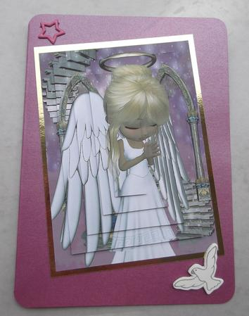 Card Gallery - Angel Prayers Pyramage Sheet