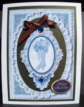 Card Gallery - beautiful boot tag frames