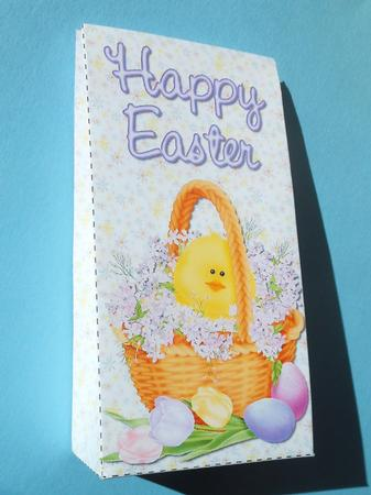 Card Gallery - Chick In Easter Basket Pinch Bag