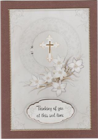 Card Gallery - Sincere Sympathy Card